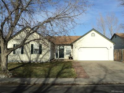 Aurora Single Family Home Active: 1692 South Espana Way