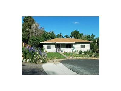 Wheat Ridge Single Family Home Active: 2880 Harlan Street