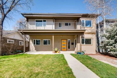 Denver Single Family Home Active: 2145 South Lafayette Street
