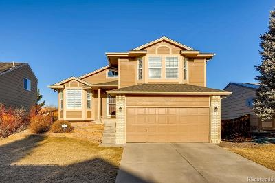 Highlands Ranch Single Family Home Under Contract: 9367 Weeping Willow Court