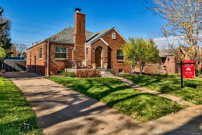 Denver Single Family Home Under Contract: 1445 Clermont Street