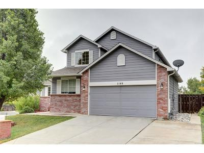 Broomfield Single Family Home Active: 1140 East 12th Avenue