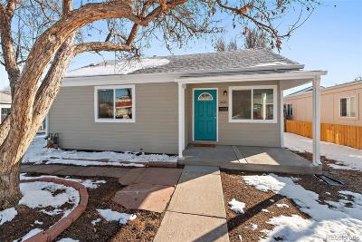 Denver Single Family Home Active: 2620 South Hazel