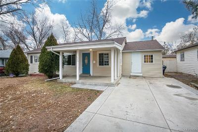 Denver Single Family Home Under Contract: 5024 West Center Drive