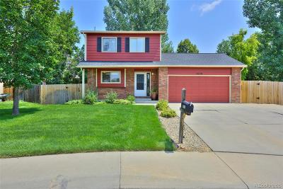 Longmont Single Family Home Active: 1639 Foster Drive
