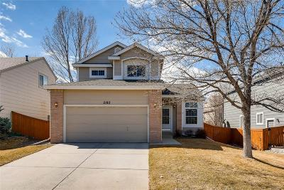 Highlands Ranch Single Family Home Active: 2182 Gold Dust Trail