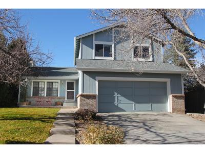 Highlands Ranch Single Family Home Under Contract: 9007 Hunters Creek Street