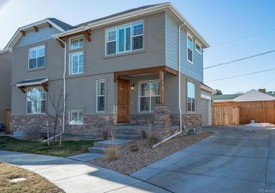 Wheat Ridge Single Family Home Under Contract: 3285 Yukon Court