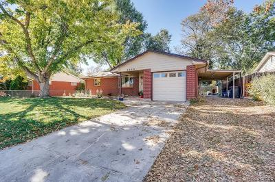 Arvada Single Family Home Active: 6645 Newland Street