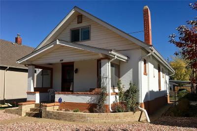 Single Family Home Under Contract: 1308 South Sherman Street
