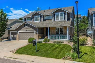 Castle Pines CO Single Family Home Under Contract: $589,000