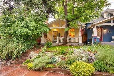 Single Family Home Under Contract: 1424 Fillmore Street