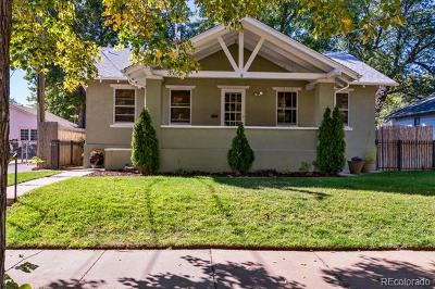 Denver Single Family Home Active: 3524 West 45th Avenue