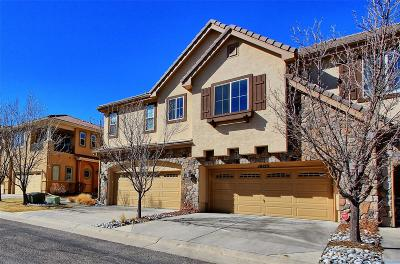 Lone Tree Condo/Townhouse Under Contract: 10123 Bluffmont Lane