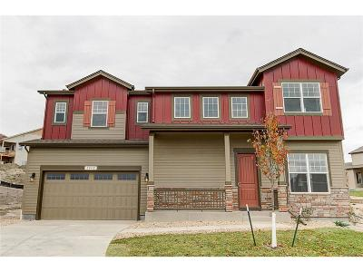 Castle Rock Single Family Home Active: 607 Sage Grouse Circle