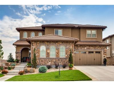 Highlands Ranch CO Single Family Home Under Contract: $1,020,000