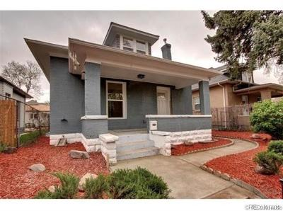Denver Single Family Home Active: 3108 York Street