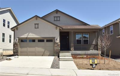 Castle Rock CO Single Family Home Active: $509,437