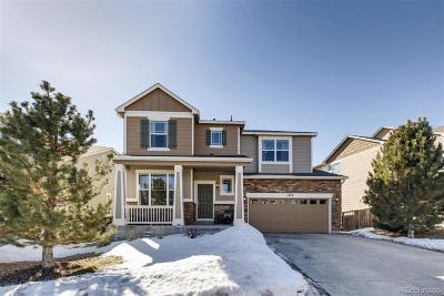Castle Rock Single Family Home Under Contract: 1418 Sky Rock Way
