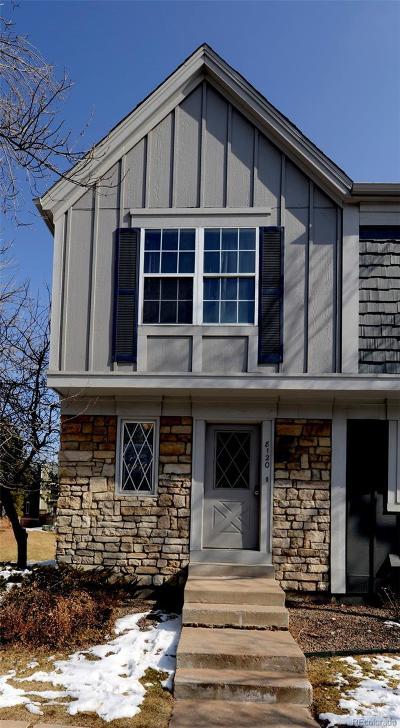 Centennial Condo/Townhouse Under Contract: 8120 South Fillmore Circle