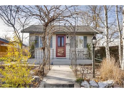 Denver Single Family Home Active: 4955 Grove Street
