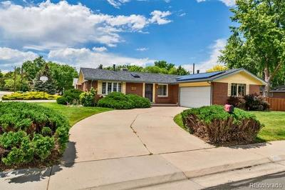 Wheat Ridge Single Family Home Active: 3651 Tabor Court