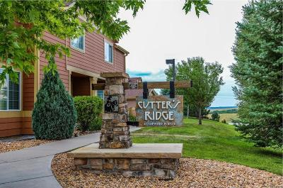 Castle Rock Condo/Townhouse Active: 2583 Cutters Circle #104