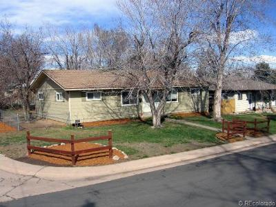 Littleton Single Family Home Under Contract: 6347 South Hill Street