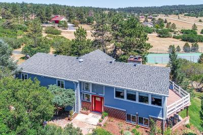 Sedalia Single Family Home Under Contract: 4136 Vista Lane