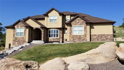 Castle Rock Single Family Home Under Contract: 2115 Lost Canyon Ranch Court