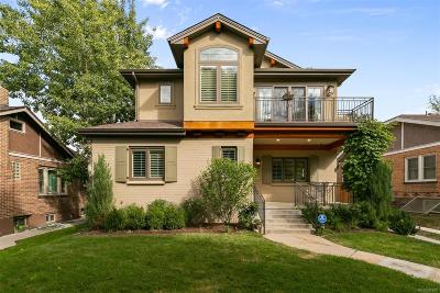 Denver Single Family Home Under Contract: 750 South York Street