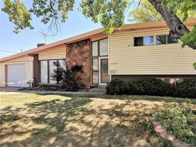 Arvada Single Family Home Active: 6384 Lamar Street