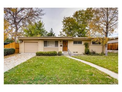 Arvada Single Family Home Active: 6185 Estes Street