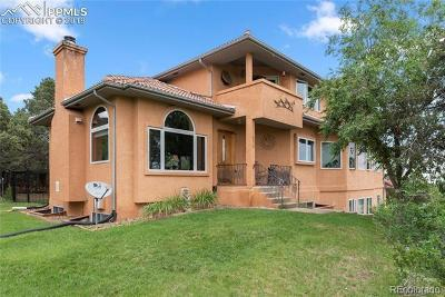 El Paso County Single Family Home Active: 5410 Barrett Road