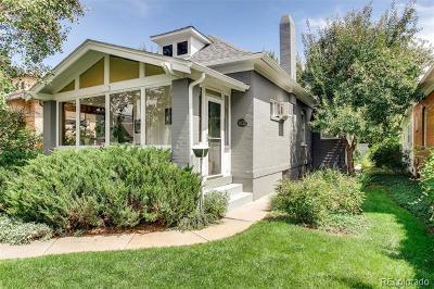 Denver County Single Family Home Active: 1432 South Clarkson Street
