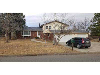 Golden, Lakewood, Arvada, Evergreen, Morrison Single Family Home Under Contract: 16451 West 74th Avenue