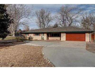 Wheat Ridge Single Family Home Active: 11485 West 38th Avenue