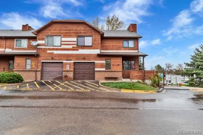 Condo/Townhouse Active: 10200 West Jewell Avenue #D