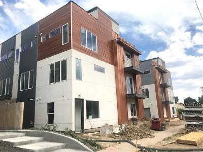 Denver Condo/Townhouse Active: 1836 Grove Street #107