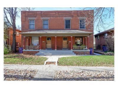 Denver Condo/Townhouse Active: 1347 Steele Street