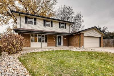 Centennial Single Family Home Active: 4344 East Peakview Circle