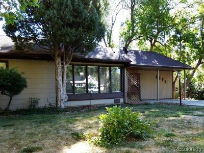 Lakewood Single Family Home Under Contract: 2126 Estes Street