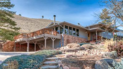 Boulder Single Family Home Under Contract: 3855 Spring Valley Road