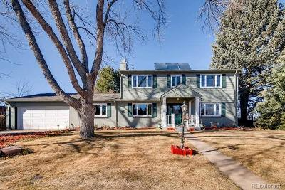 Littleton CO Single Family Home Active: $565,000
