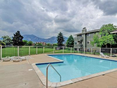 Boulder Condo/Townhouse Under Contract: 695 Manhattan Drive #114