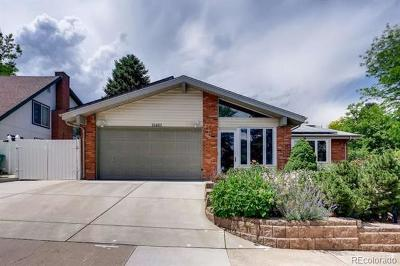 Aurora Single Family Home Active: 15493 East Milan Drive