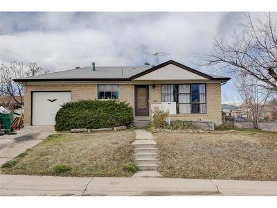 Northglenn Single Family Home Active: 10525 Franklin Way
