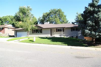 Littleton Single Family Home Under Contract: 861 South Southwood Drive