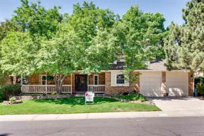 Littleton Single Family Home Active: 10726 West Rowland Avenue