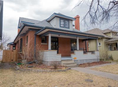 Denver Single Family Home Under Contract: 75 South Emerson Street